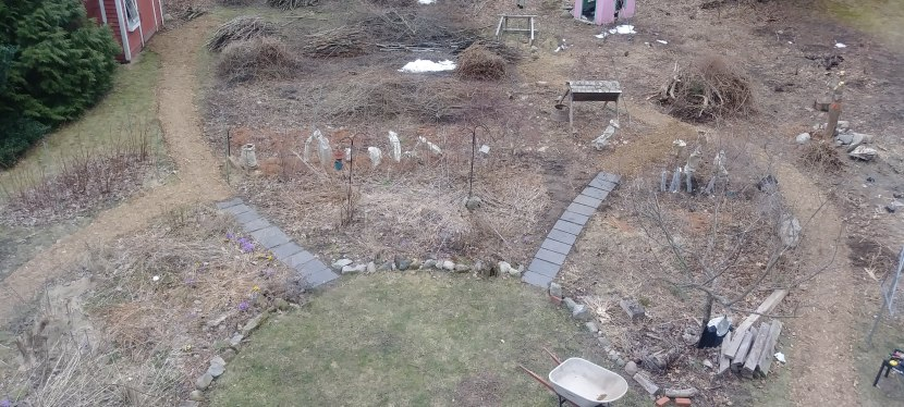 How to easily lay out gardenpaths